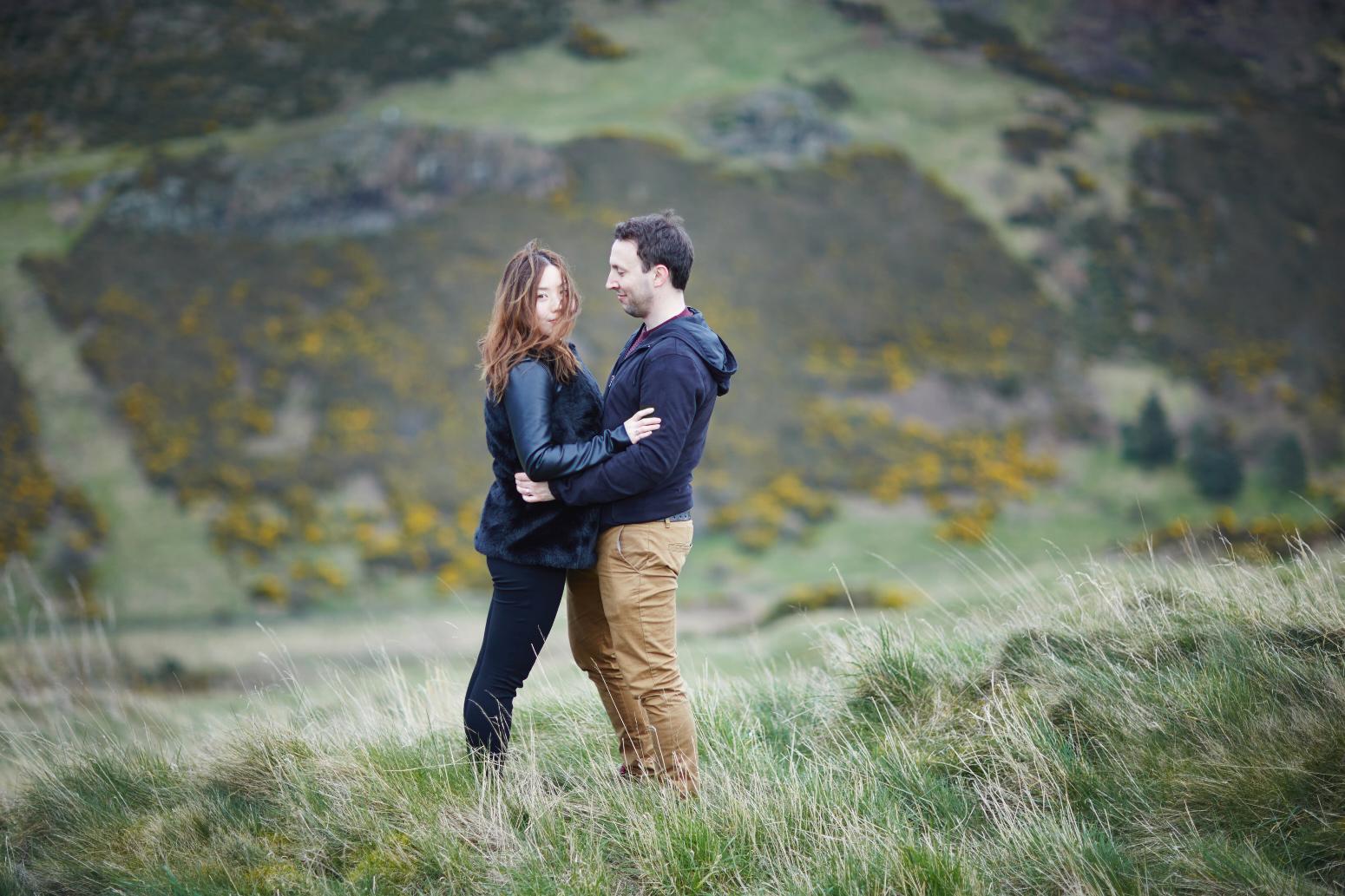 Artistic wedding photography Edinburgh, Scotland