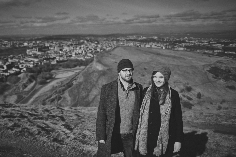 Pre-wedding photos Edinburgh by Malishka Photography