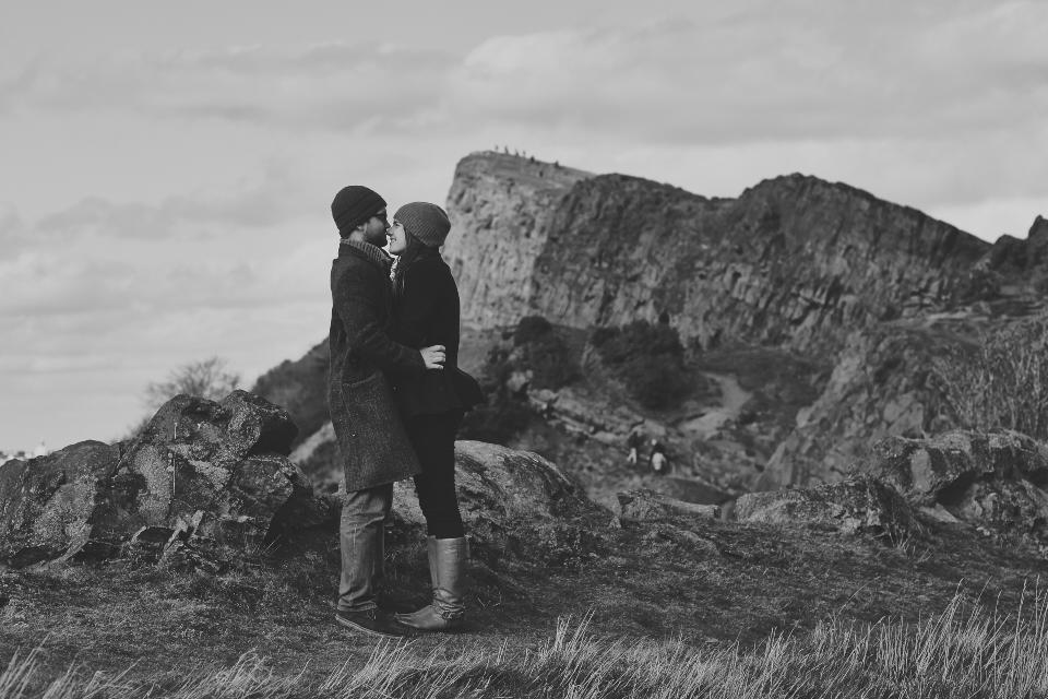 fantastic couple shots in Edinburgh