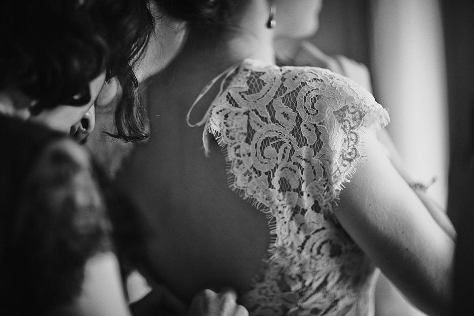 Bridal preparations in Edinburgh