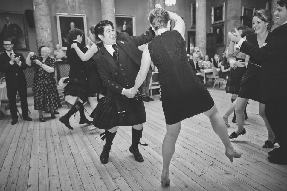 Royal College of Physicians Edinburgh wedding photography