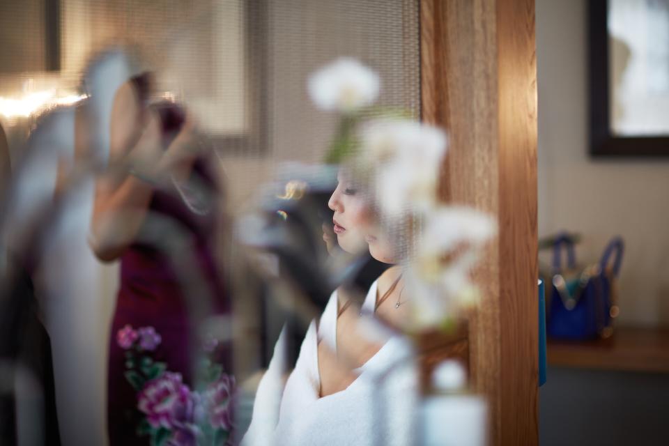 Artistic wedding photography Edinburgh
