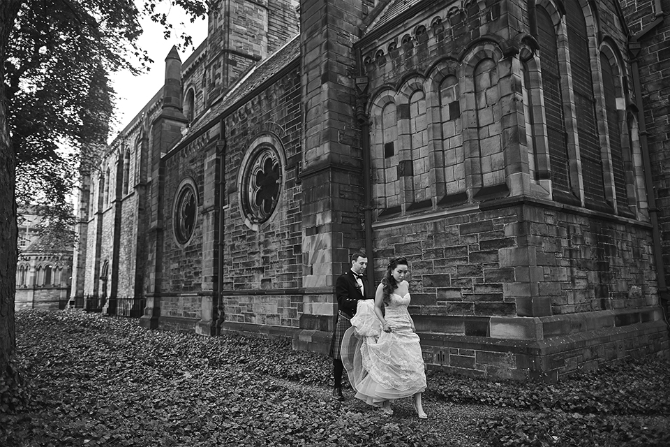 Mansfield Traquair wedding photos