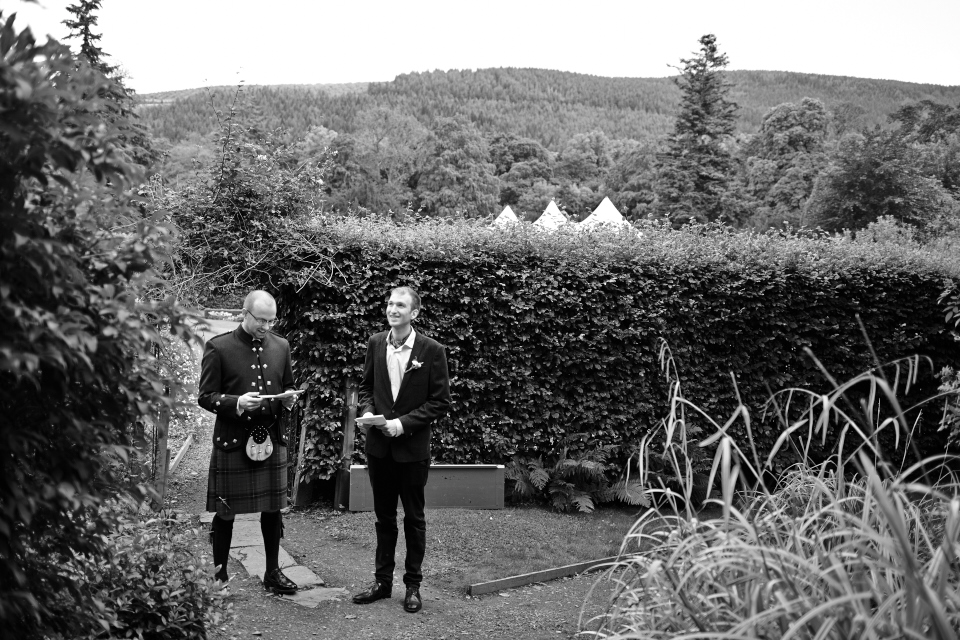 Traquair House wedding photography