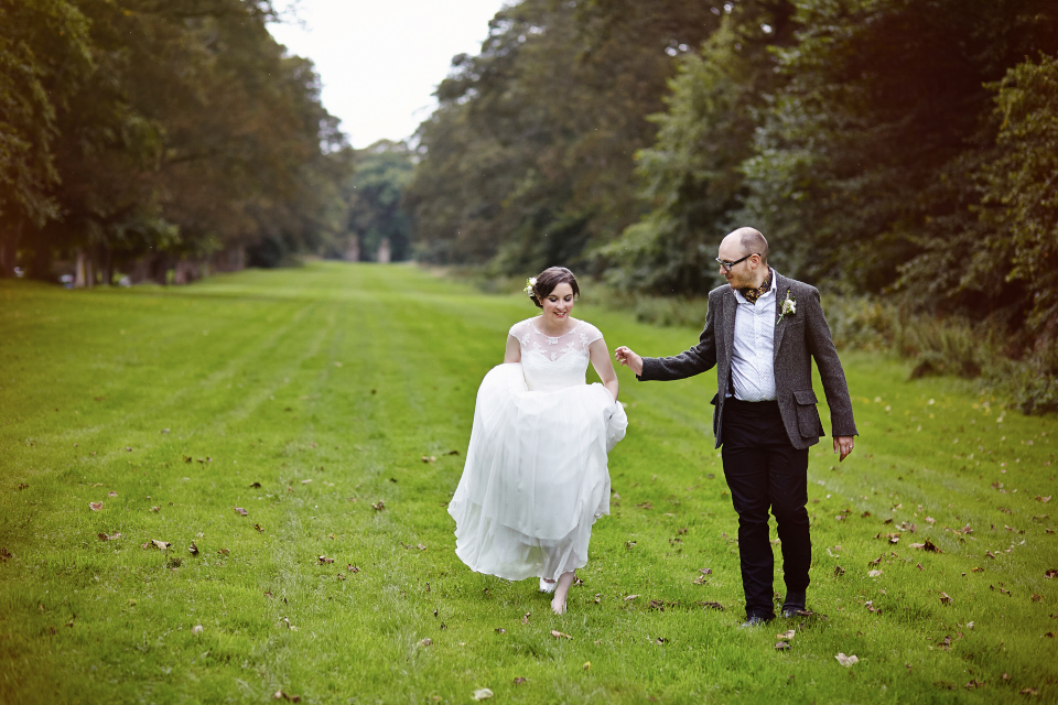 Traquair House wedding photography