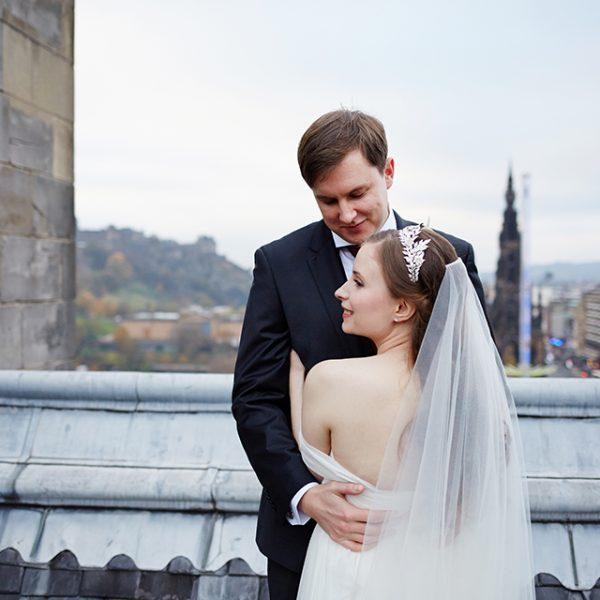 The Balmoral Hotel wedding