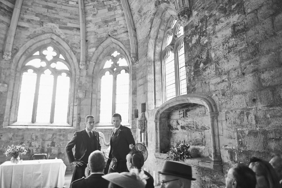 Edinburgh reportage wedding photographers