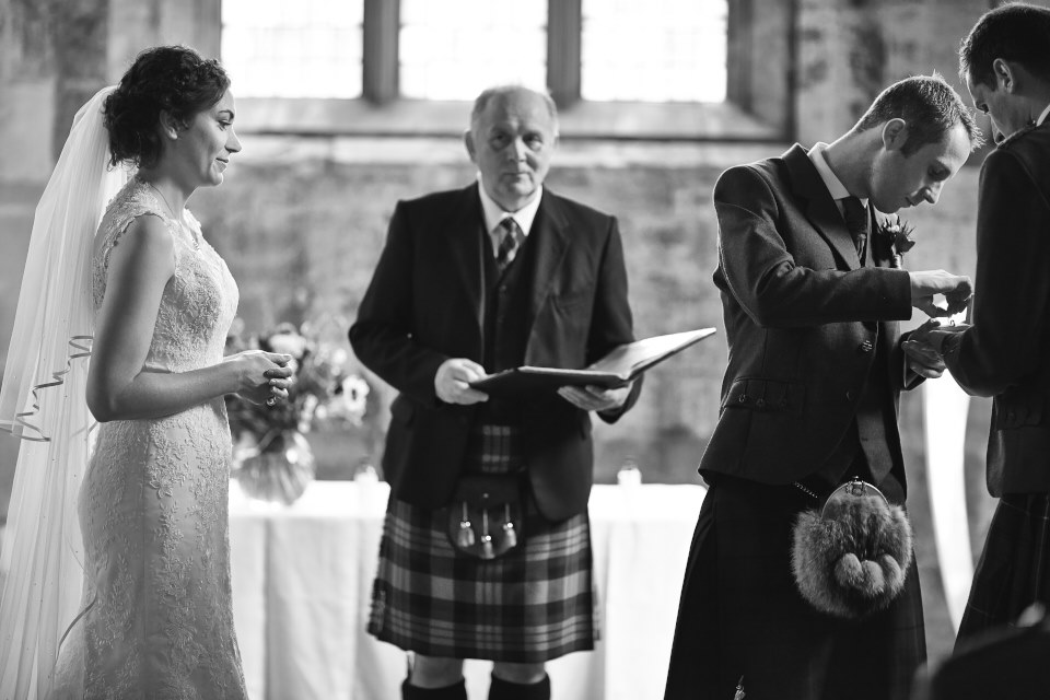 reportage wedding photographers Scotland
