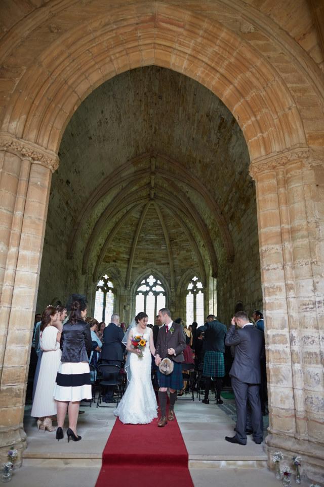 reportage wedding photography in Scotland