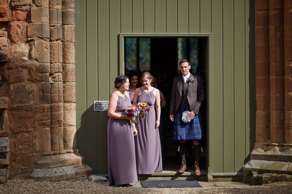 reportage wedding photographer Edinburgh
