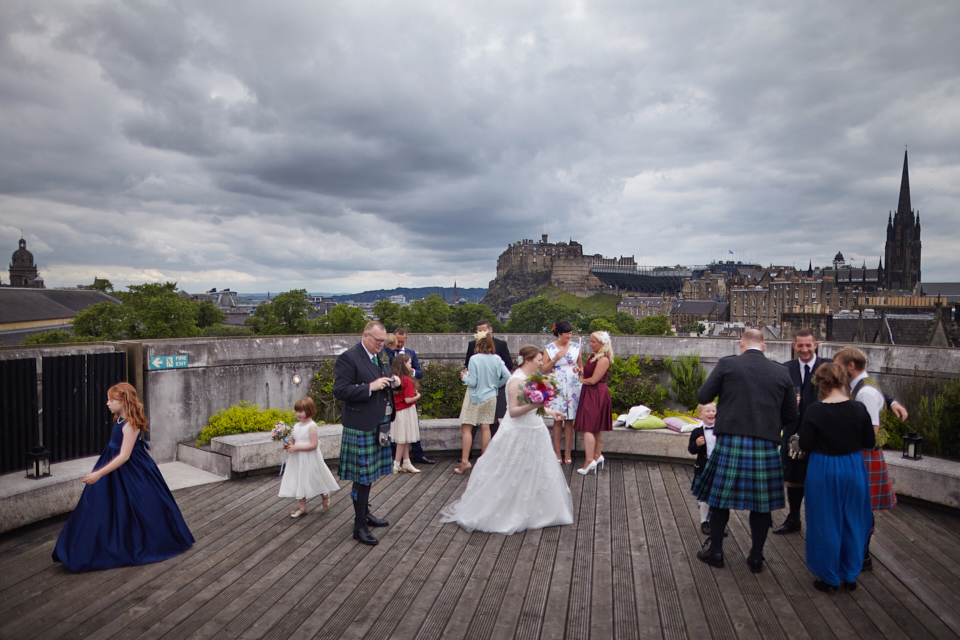 National Museum of Scotland wedding