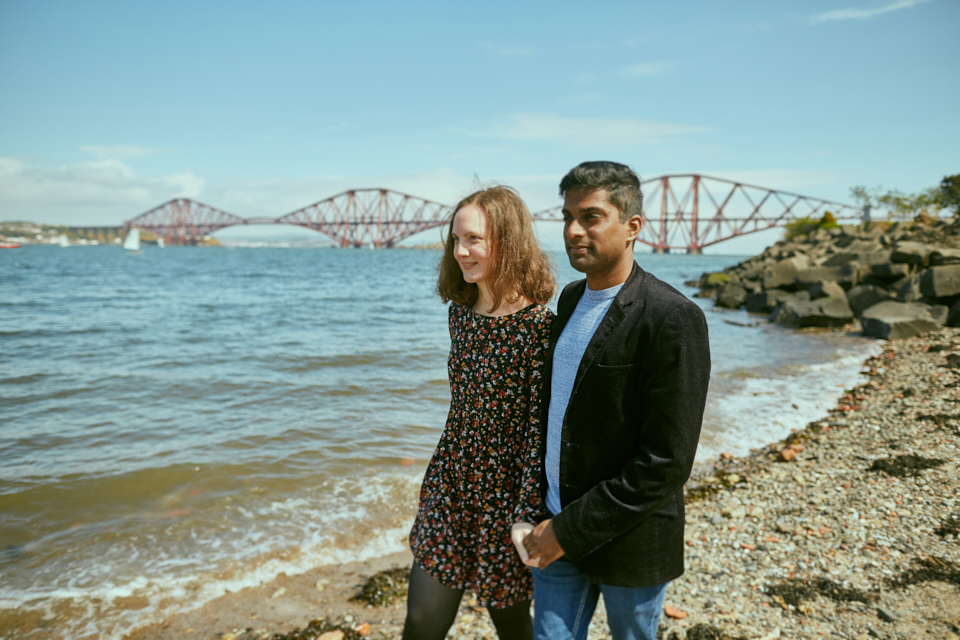 South Queensferry couple photo session
