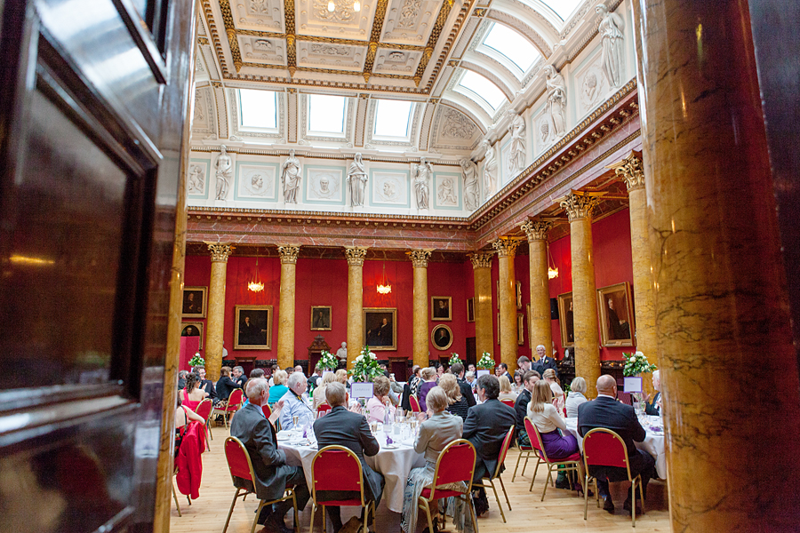 Wedding celebrations at Royal College of Physicians of Edinburgh