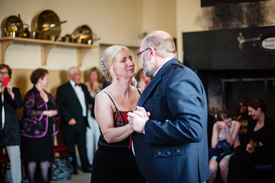 First dance of the bride and groom at Culzean Castle Wedding