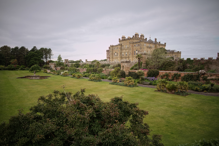 gardens in front of the Culzean Castle