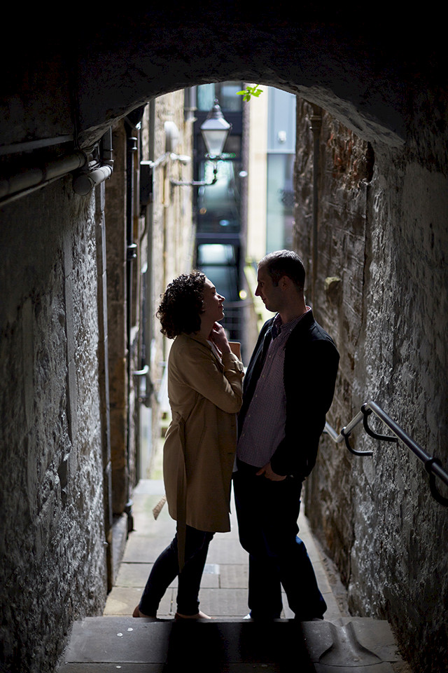Royal Mile couple session