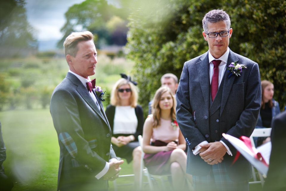 Reportage wedding photography Kinross House