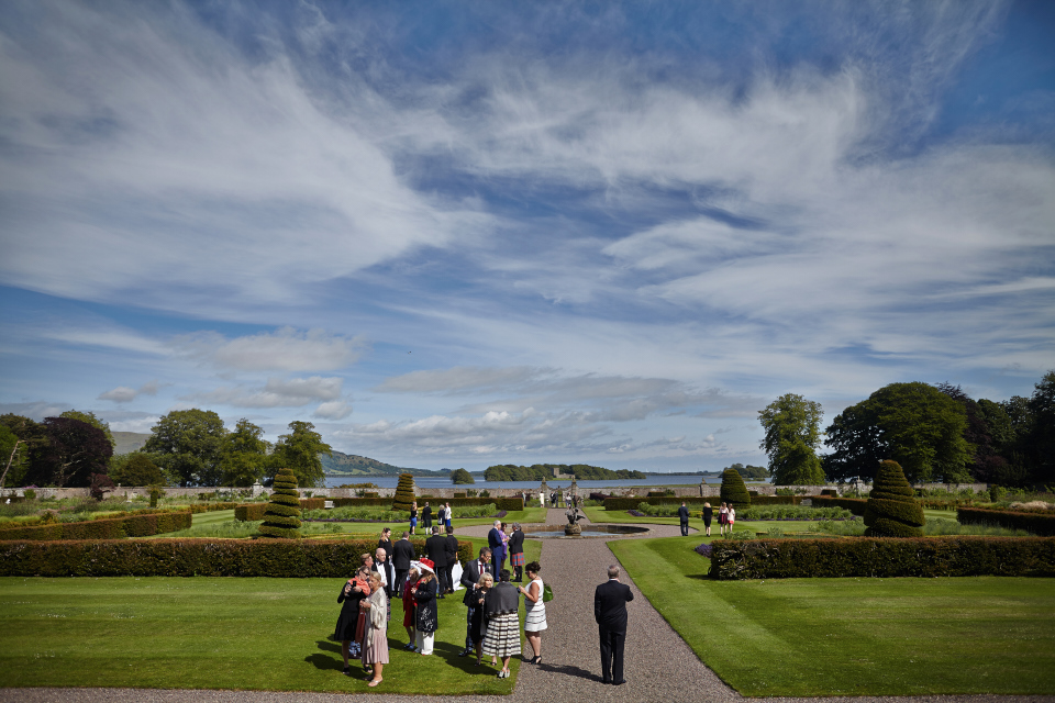 Scotland luxury wedding venue