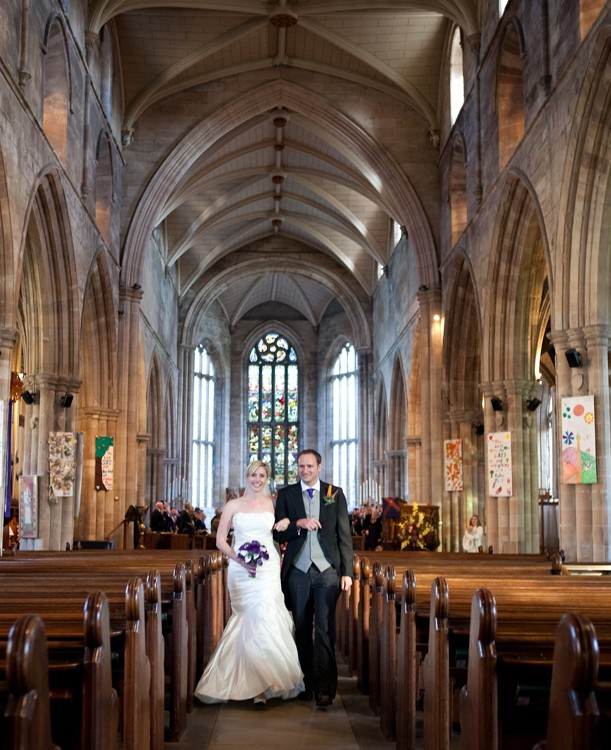 Wedding at Linlithgow Palace