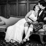 Wedding at Pollock Halls Edinburgh