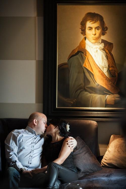 Couple photo session in Edinburgh