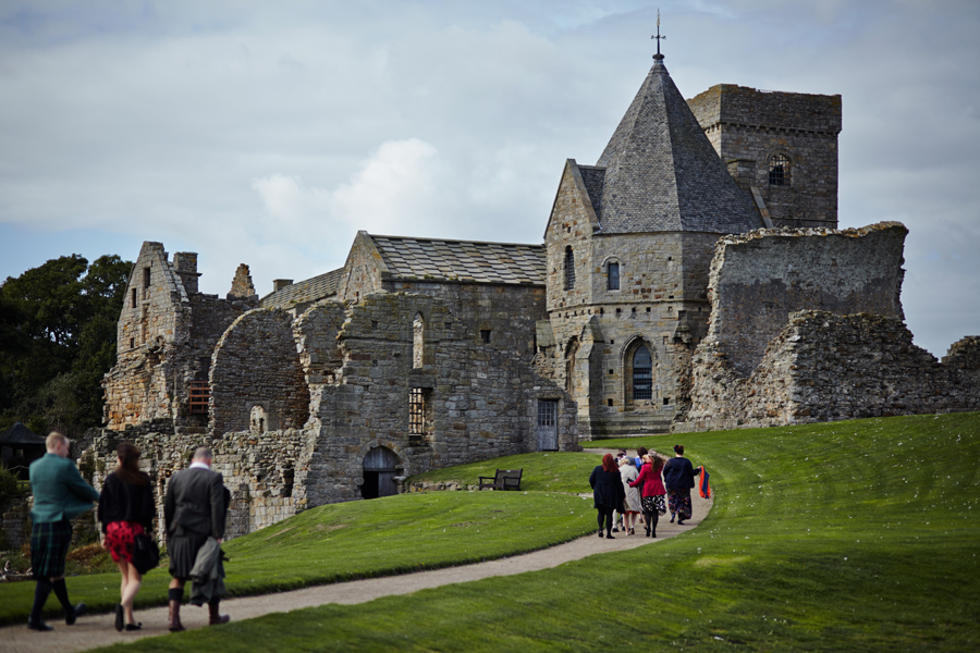 Inchcolm Island and Orocco Pier Wedding Photography