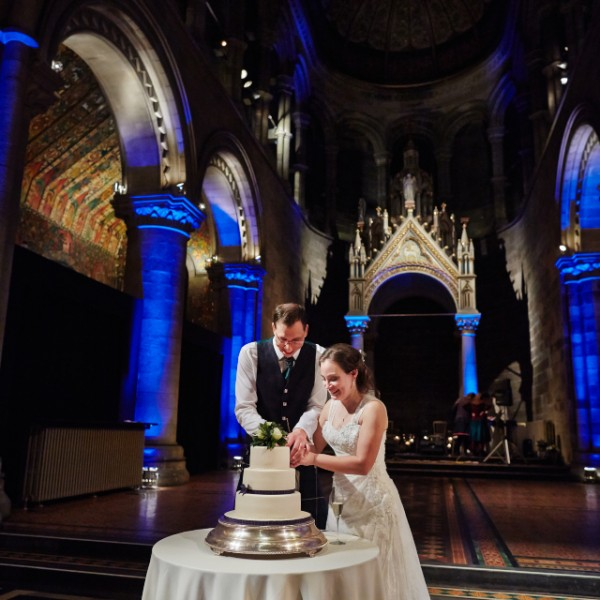 Mansfield Traquair wedding