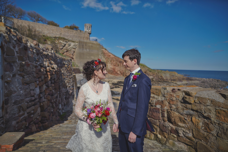 Cambo Estate and Crail Harbour wedding