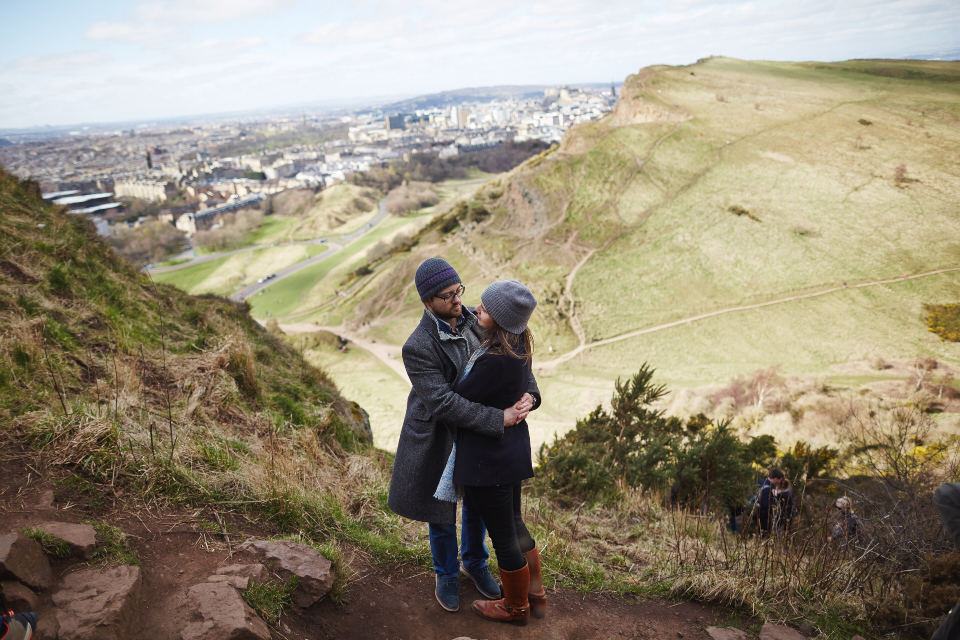 Arthur's Seat photo session
