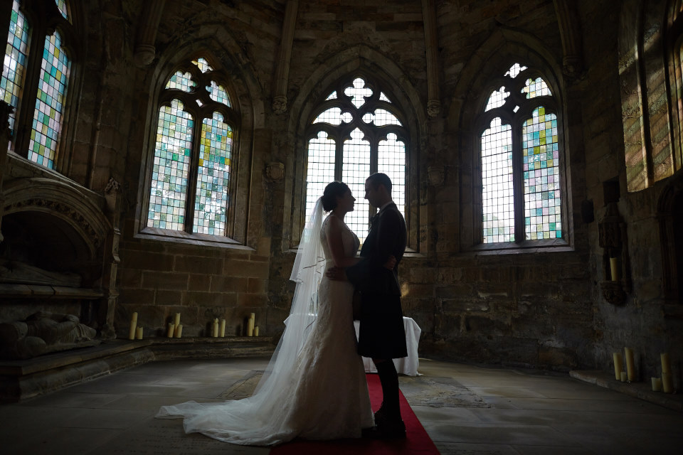 Seton Chapel and North Berwick Macdonald Marine Hotel wedding