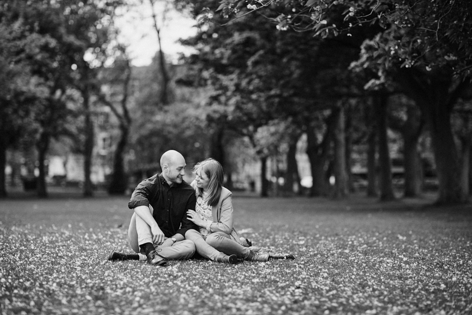 Engagement photography in Edinburgh