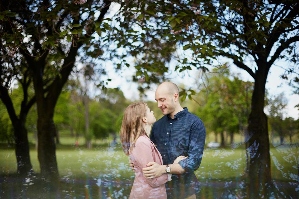 Sweet couple photo session Edinburgh