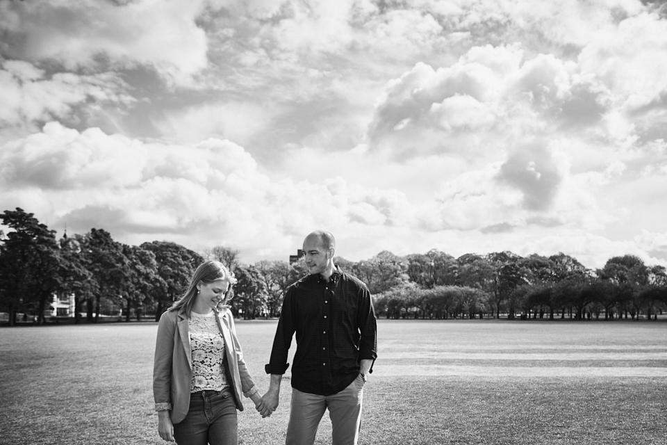 Edinburgh couple photo shoot