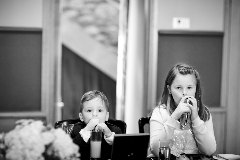 Kids at weddings Edinburgh