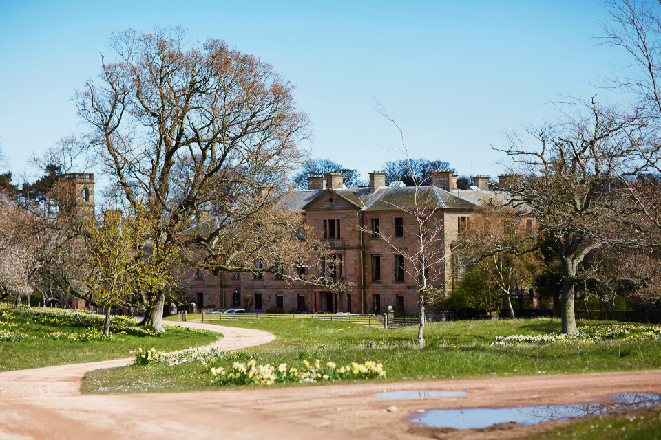 Fantastic wedding venue in Scotland, Cambo House