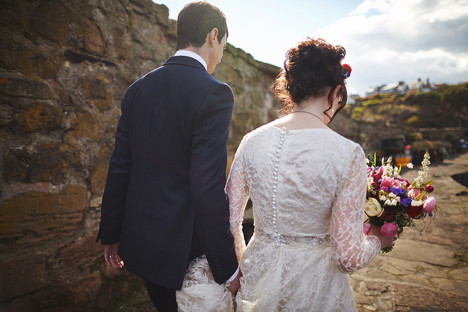 Artistic wedding photography in Scotland by Malishka Photography