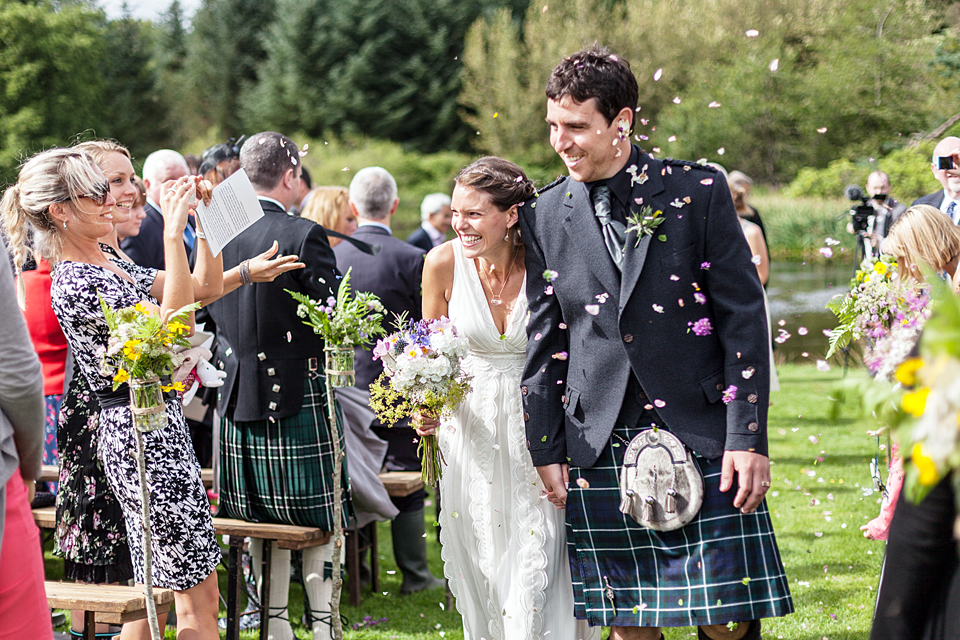 Reportage wedding photography in Scotland